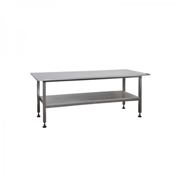 tavolo da lavoro a due piani