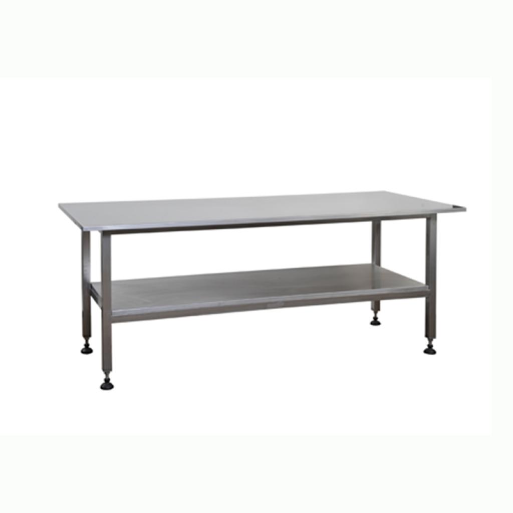 tavolo da lavoro doppio ripiano