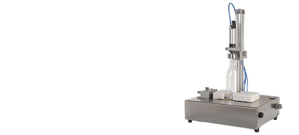 Tappatore Semiautomatico Da Banco Per Bottiglie Latte E Vasetti
