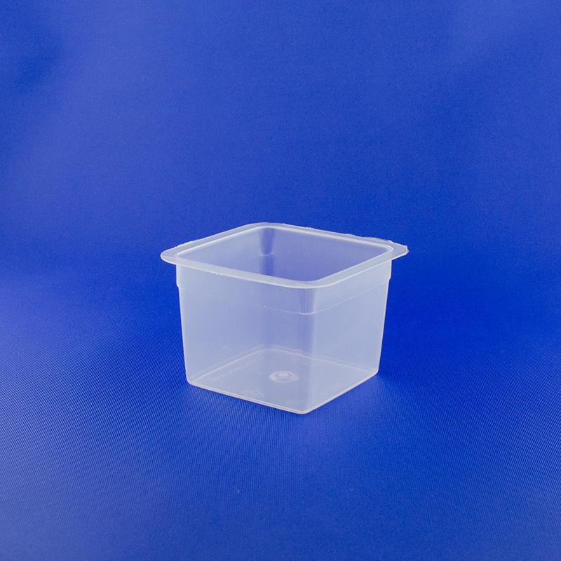Vaschetta quadrata ml 150