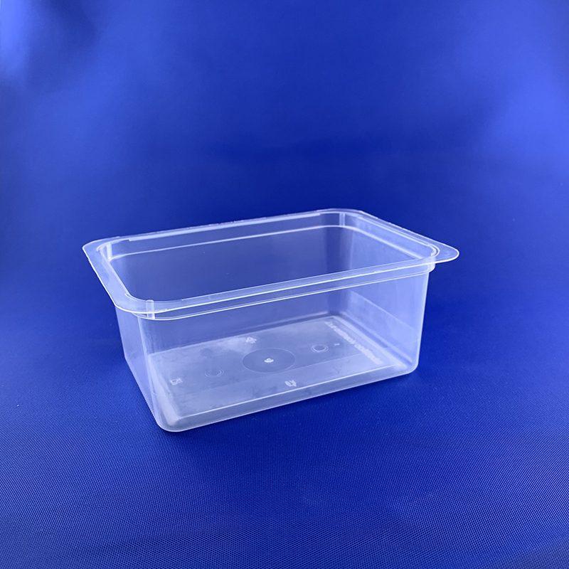 Rectangular tray ml 550